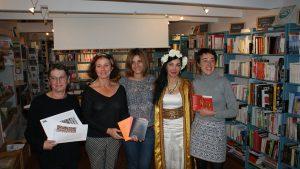 ©Jean-Luc Kervarec De g.à d.: Anne Le Bihan, Gaëlle Pairel, Maryam Samaan, Maram Al-Masri et Estelle Le Breton