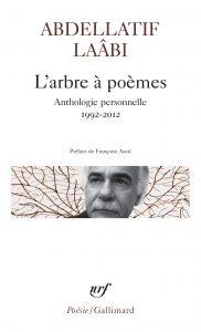 couverture l'arbre à poème Laabi