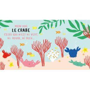 Mes-amis-de-la-mer crabe