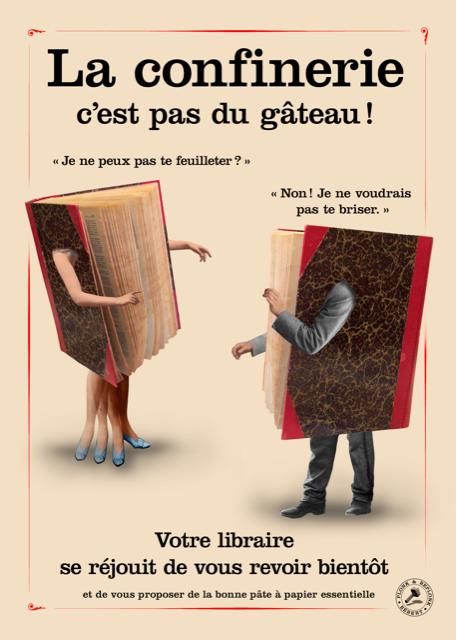 Affiche librairie ponk et replonk