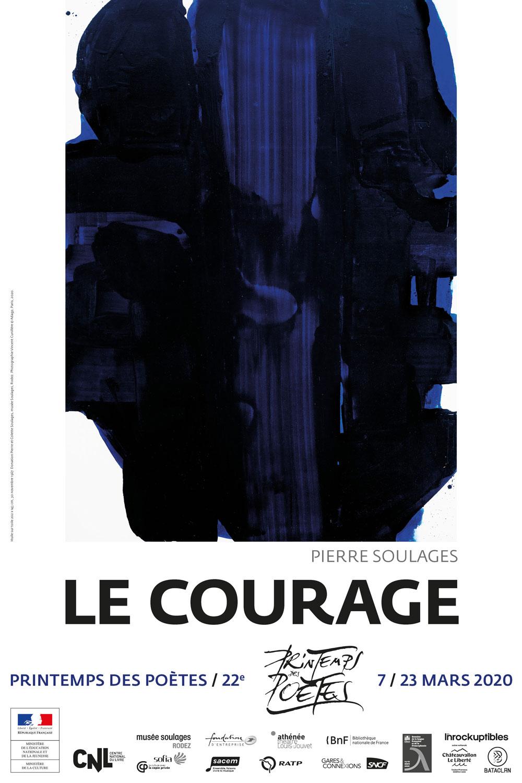 Affiche Soulages
