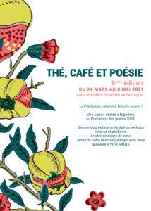 1ère de couverture - Thé cafe poésie 2021